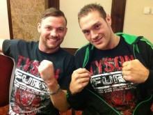 Andy Lee with Cousin Tyson Fury