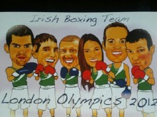 olympic team cartoon