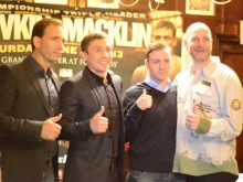 Macklin fights in his third world title fight next month